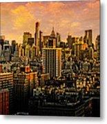 Gotham Sunset Metal Print