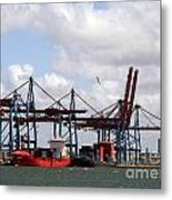 Gothenburg Harbour 07 Metal Print