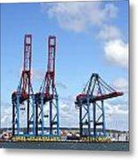 Gothenburg Harbour 12 Metal Print