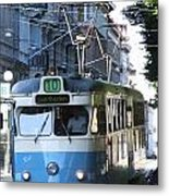 Gothenburg Tram 01 Metal Print