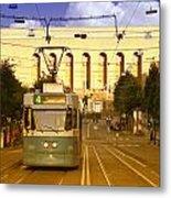 Gothenburg Tram 04 Metal Print
