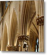 Gothic Arches II Metal Print by Dick Wood