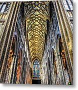 Gothic Architecture Metal Print by Adrian Evans