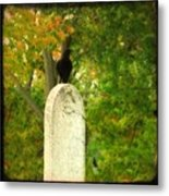 Gothic Autumn Metal Print