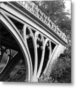 Gothic Bridge Design Metal Print