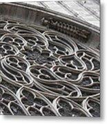 Milan Gothic Cathedral Apse Window Metal Print