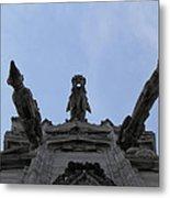 Milan Gothic Cathedral Gargoyles Metal Print