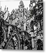 Gothic Cathedral Of Den Bosch Metal Print by Carol Groenen