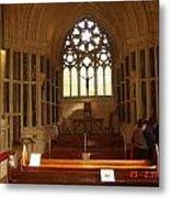 Gothic Church Kylemore Abbey Metal Print
