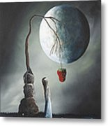 Gothic Fantasy Art By Shawna Erback So Tempting Metal Print