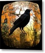 Gothic Fish Eye Metal Print