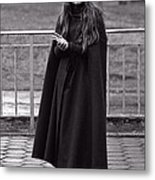 Gothic Miss Metal Print