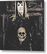 Gothic Motivational Metal Print