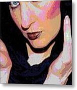 Gothical 2 Metal Print