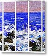 Gottah See Waves  Metal Print