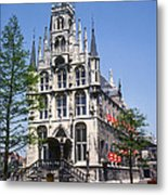 Gouda City Hall Metal Print