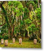 Gould's Cemetery Metal Print
