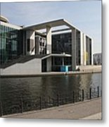Government Building  Berlin  Metal Print