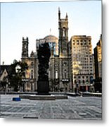 Government Of The People Statue Metal Print