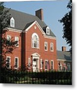 Governor House Annapolis Metal Print