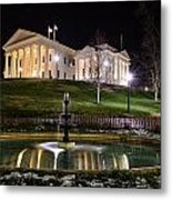Governor's Mansion Metal Print