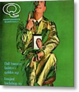 Gq Cover Featuring Salvador Dali Metal Print