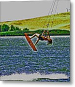 Gr8 Lift Metal Print by Joseph Coulombe