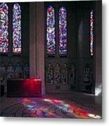 Grace Cathedral Walking Labyrinth - San Francisco Metal Print