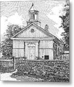 Grace Episcopal Church In Yorktown Virginia Metal Print