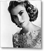 Grace Kelly, Mgm Portrait, Mid-1950s Metal Print