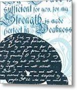 Grace Sufficient Metal Print