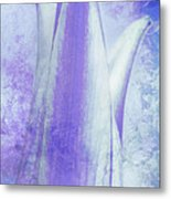 Graced Blossom In Lavender Metal Print