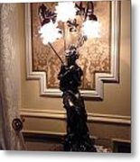 Graceful Lamp Metal Print