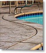 Gracious Curves Palm Springs Metal Print