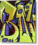 Graffiti 22 Metal Print