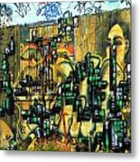 Graffiti 24 Metal Print