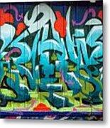 Graffiti 6 Metal Print