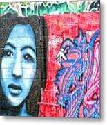 Graffiti 9 Metal Print