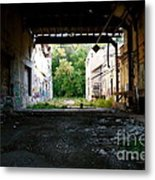Graffiti Alley 1 Metal Print