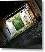 Graffiti Alley 2 Metal Print