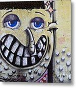 Graffiti Art Buenos Aires 1 Metal Print