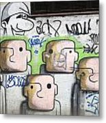 Graffiti Art Rio De Janeiro 5 Metal Print