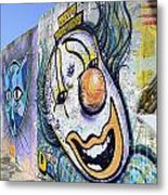 Graffiti Art Santa Catarina Island Brazil 1 Metal Print by Bob Christopher