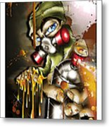 Graffiti Is An Addiction Metal Print