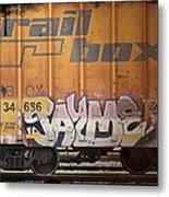 Graffiti - Jayme Doll Metal Print