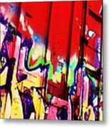 Graffiti Metal Print