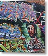 Graffiti Series 01 Metal Print