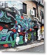 Graffiti Series 02 Metal Print