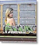 Graffiti - Tinkerbell Metal Print by Graffiti Girl