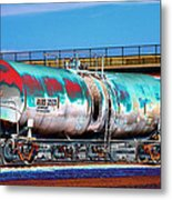 Graffiti - Toxic Tanker II Metal Print